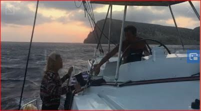 Mouillage en Crète avant de repartir jusqu'à Chypre